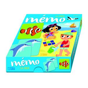 Ma boîte à jeux - Mémo - La mer 655070