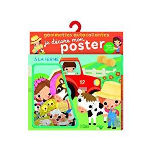 Je décore mon poster avec les gommettes - À la ferme 655077