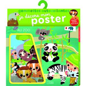 Je décore mon poster avec les gommettes – Au zoo 655078