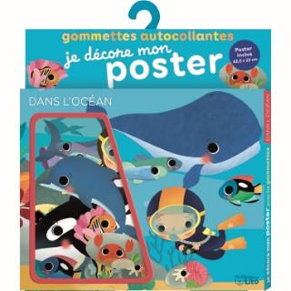 Je décore mon poster avec les gommettes – Dans l'océan 655079