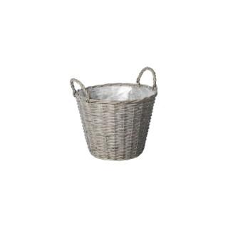 Pot Basket Potato Gris - D.18 x H14 cm 655581