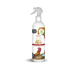 Lotion anti poux pour volailles bio en spray de 500 ml 656029