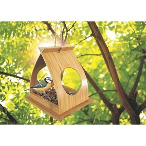 Mangeoire strück en bambou 15 x 18 x 16 cm 657418