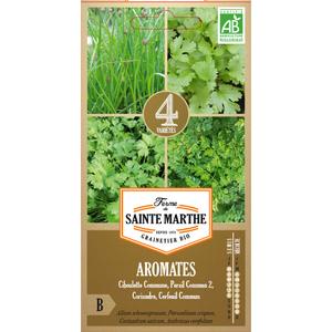 Sachet de graines de 4 aromates en mélange 657552