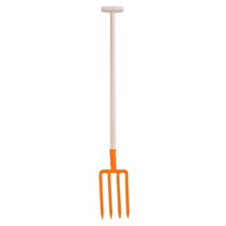 Fourche à bêcher orange 657556