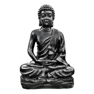 Statue de Bouddha kadampa coloris noir 150 cm 657587