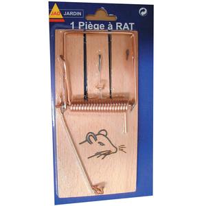 Piège à rats avec socle en bois 657605