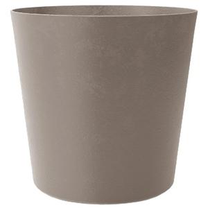 Pot Element conique de 8,7 L coloris calcaire Ø 25 x 24 cm 658793