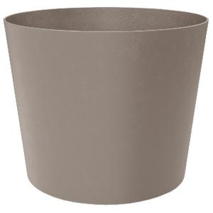 Pot Element conique de 30 L coloris calcaire Ø 39 x 32 cm 658796