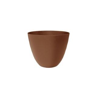 Pot Element rond de 26 L coloris marron Ø 39 x 32 cm 658803