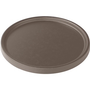 Soucoupe pour pot Element coloris beige calcaire Ø 23,2 x 1,6 cm 658808