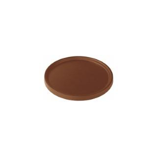 Soucoupe pour pot Element coloris marron Ø 33,5 x 1,6 cm 658815