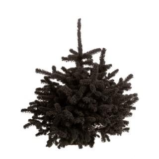 Sapin glacé Robin noir H 70/80 cm 658823