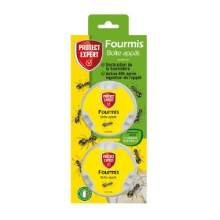 Fourmis Boîte Appâts 2x10 g 1,6x9,8x25,5 cm 659189