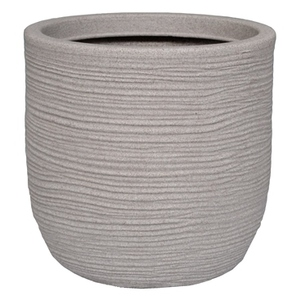 Pot rond Corde beige Ø 55 x 60 cm de 123 L 659311