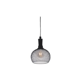 Suspension solaire Jazz noire à LED blanc chaud Ø 19 x H 24,5 cm 659337