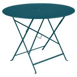 Table Pliante Bistro FERMOB bleu acapulco Ø96xh74 659353