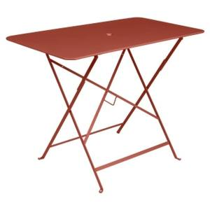 Table pliante Bistro ocre rouge L97xl57xh74 659356