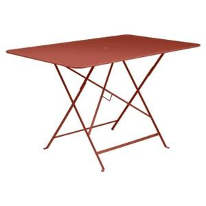 Table pliante Bistro FERMOB ocre rouge L117xl57xh74 659358