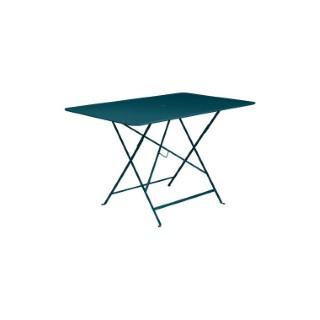 Table pliante Bistro FERMOB bleu acapulco L117xl57xh74 659359