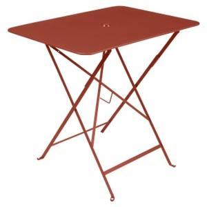 Table pliante Bistro FERMOB ocre rouge L77xl57xh74 659364