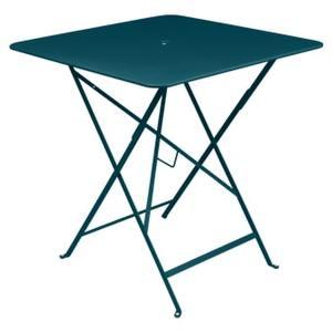 Table pliante Bistro FERMOB bleu acapulco L71xl71xh74 659367