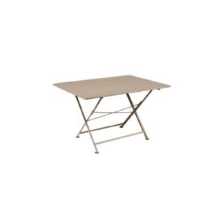 Table pliante Cargo FERMOB muscade L128xl90xh74 659376