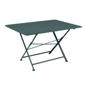 Table pliante Cargo FERMOB gris orage L128xl90xh74 659379