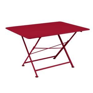 Table pliante Cargo FERMOB piment L128xl90xh74 659381