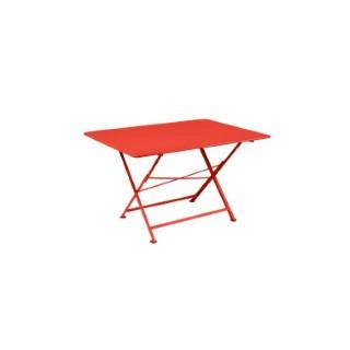 Table pliante Cargo FERMOB capucine L128xl90xh74 659382