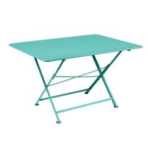Table pliante Cargo FERMOB bleu lagune L128xl90xh74 659383