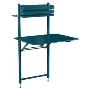 Table balcon Bistro FERMOB bleu acapulco L77xl62,5xh120 659392