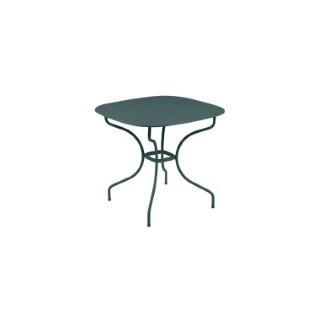 Table Opéra + FERMOB gris orage  L82xl82xh74 659433