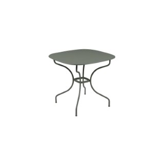 Table Opéra + FERMOB romarin L82xl82xh74 659439