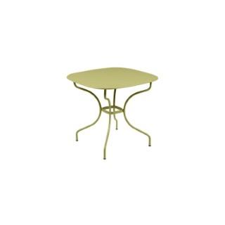 Table Opéra + FERMOB tilleul L82xl82xh74 659440