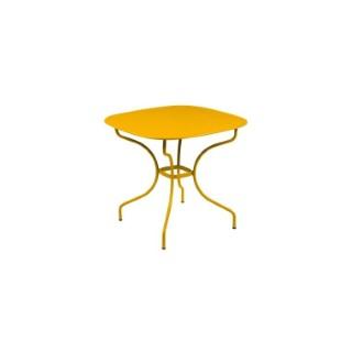 Table Opéra + FERMOB miel L82xl82xh74 659441