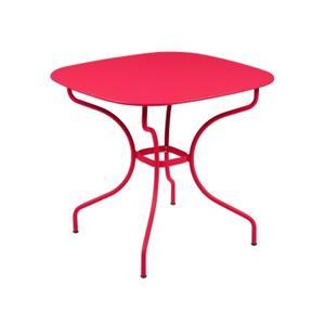 Table Opéra + FERMOB rose praline L82xl82xh74 659444