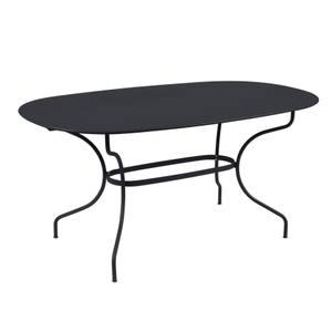 Table Opéra + FERMOB carbone L160xl90xh74 659454