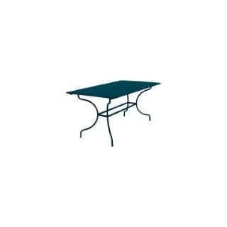 Table Manosque FERMOB bleu acapulco L160xl90xh74 659466