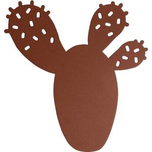 Dessous de plat Cactus Fermob en acier coloris Ocre rouge 659484