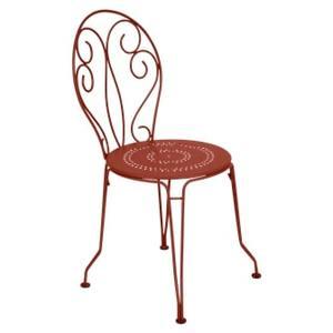 Chaise Montmartre FERMOB ocre rouge L56xl48xh87 659497