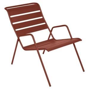 Fauteuil bas Monceau ocre rouge 659514