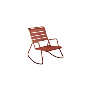 Rocking chair Monceau FERMOB ocre rouge L68xl78xh88 659516