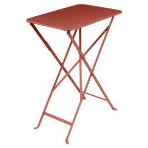 Table pliante Ocre Rouge 37 cm X 57 cm X74 cm 659550
