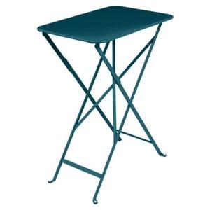 Table pliante Bleu Acapulco 37 cm X 57 cm X 74 cm 659551