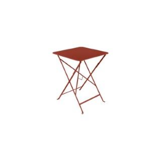 Table pliante Ocre Rouge 57 cm X 57 cm X 74 cm 659552