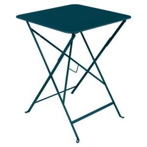 Table pliante Bleu Acapulco 57 cm X 57 cm X 74 cm 659553