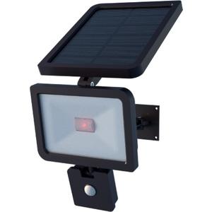 Projecteur solaire orientable noir Xenon 1100 lumens 22,5x16x38 cm 659613