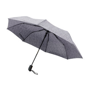 Parapluie amsterdam gris en acier et polyester 659667