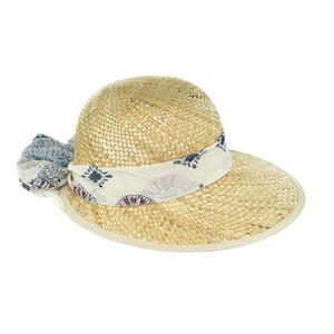 Chapeau charlotte beige pour femme en taille unique 659747